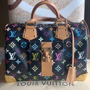 ❤️SOLD Louis Vuitton  unique multicolor speedy bag